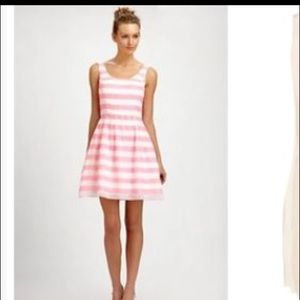 Lily Pultizer pink/white striped dress sz small
